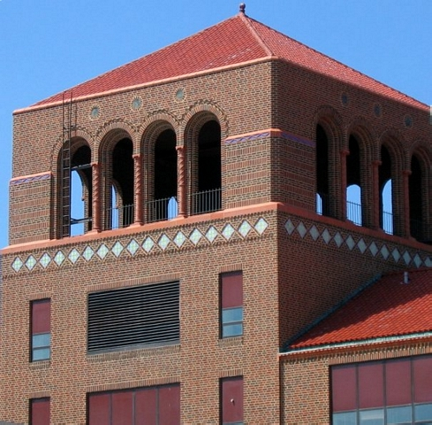 Freeport High School tower