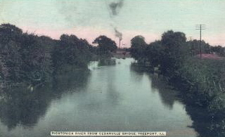 Pecatonica River in 1909