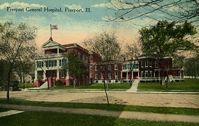 Freeport General Hospital in 1915