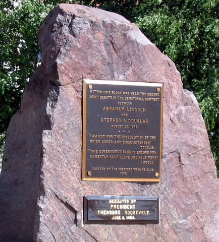 monument dedicated by President Theodore Roosevelt