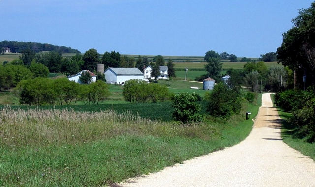 Bike family homestead in Buckeye Township, Illinois