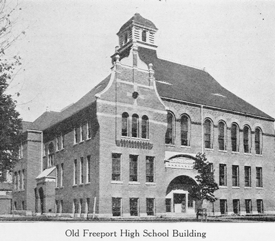 Old Freeport High School Building